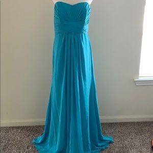 Aqua Blue Dress